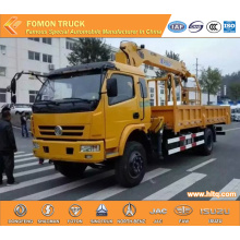 DONGFENG camion à benne basculante grue 3.2tons