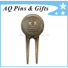 3D Stamped Metal Golf Divot Tool, Factory Price (golf-12)