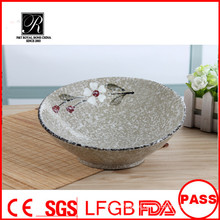 Keramik-Steingut, neue Design Keramik-Salat Schüssel, Keramik-Obst-Schüssel