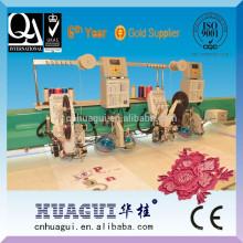 Máquina de HUAGUI 6 cabeças bordado comercial para venda