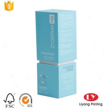 Luxury paper perfume box cosmetic packaging box