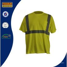 Más reciente diseño reflectantes ropa de trabajo camisa