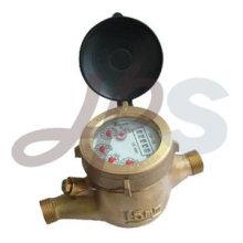 medidor de agua volumétrica de latón