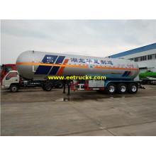 26MT 50000 Liters Cecair Ammonia Trailers Tank