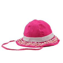 Wholesale Custom Made Kids Cotton Bucket Hats