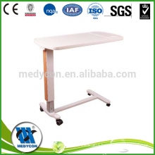 Removable ABS board hospital over the bed tables