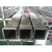 Tubes carrés pré-galvanisés / tuyau à section creuse
