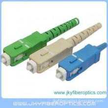 SC APC Fiber Optic Connector