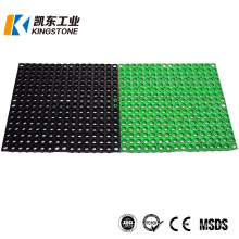 Top Quality Mesh Permeable Perforated Rubber Mat with Holes for Deck