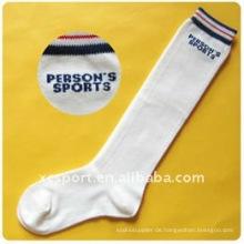 Billig neue bequeme hohe Absorption weiche 100% Baumwolle Männer Sport Socken