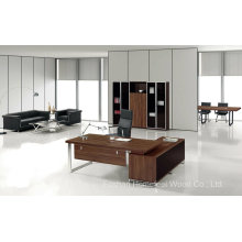 High Quality Wood Executive Office Table Furniture (HF-TWB108)