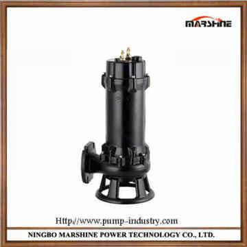Pompe 220V/380V coupe verticale d'impureté des eaux usées