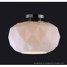 Lámpara de techo de cristal simple de la alta calidad moderna de Roon (MX8710S-W)