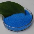 Sulfate de cuivre en cristal bleu CuSO4 de qualité industrielle