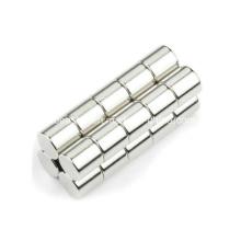 Nickel revêtement Permanent aimant de néodyme de cylindre