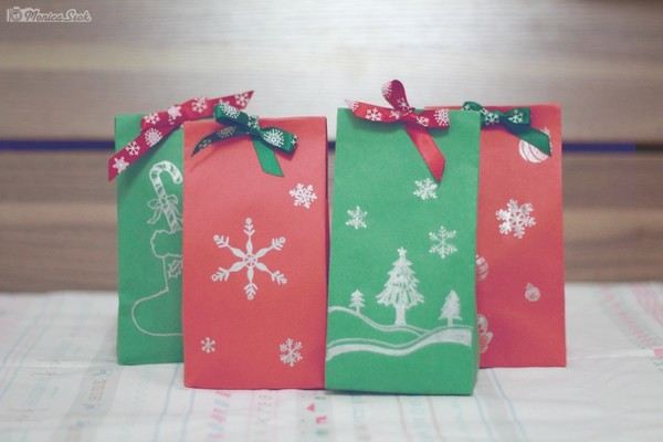 Christmas Series  gift bag
