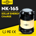 Dual Recharging Luminous Way Solar Camping Lantern (NK-165)