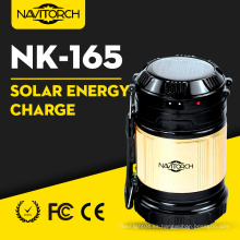 Linterna que acampa solar de la manera luminosa de la recarga dual (NK-165)