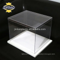 JINBAO factory customized clear acrylic shoe case square box