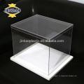 Завод ы подгонянный прозрачный чехол для обуви акриловая квадратная коробка