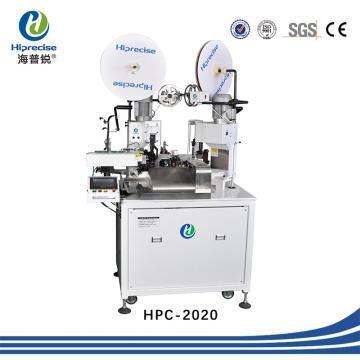 Máquina de crimpagem de terminal de fio automático com SGS