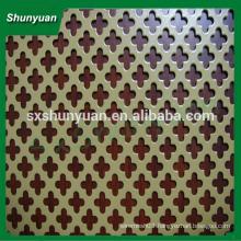 Shunyuan high quality perforated metal sheet