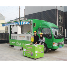 Hotel Use Coffee Fast Food Vending Van