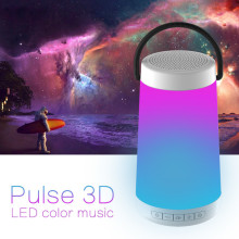 Colorful Dazzle Lights Wireless Bluetooth Speaker