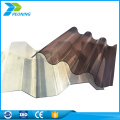 Good price high quality translucent polycarbonate plastic corrugated roof panels sheet