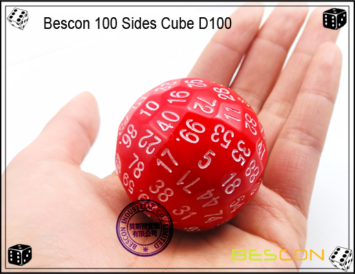 Bescon 100 Sides Dice D100-3
