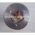 Parafuso de soquete de cabeça chata com porca de flange hexagonal