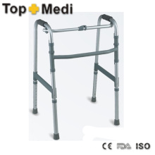 Gesundheitspflege Produkte Aluminium Verstellbarer Walking Frame Rollator