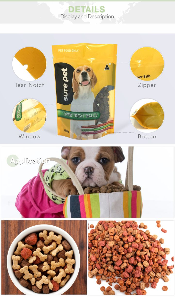 Plastic Dog Food Bag