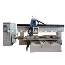 Traitement du bois au CNC