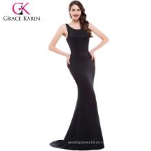 Grace Karin Formal Maxi Dresses Long Robe Sexy Vestidos de fiesta Moda Mujer Verano Vestido sin mangas CL009648-1 #