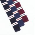 Fashion Neckties Men Skinny Knit Neck Ties