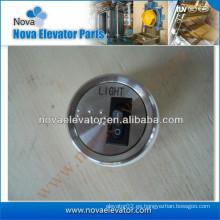Botón especial con encendido y apagado en él