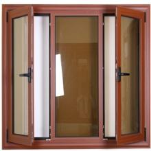 Incline y gire la ventana con la pantalla de insectos