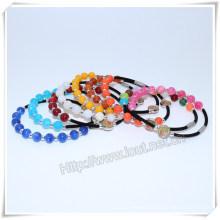 Religious Bracelet, Rosary Bangle, Catholic Rosary Bracelet (IO-CB165)