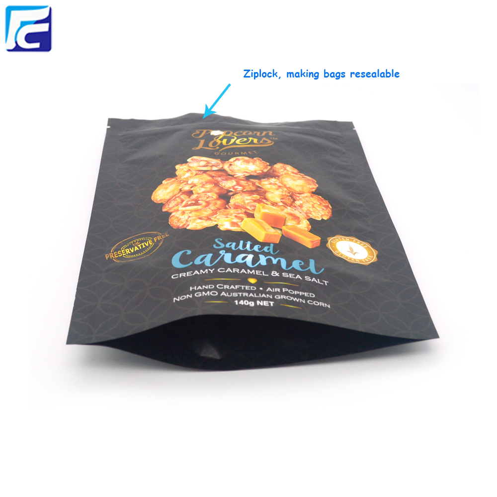 custom printed heat seal plastic bag