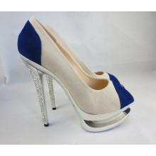 2016 nuevos zapatos de vestir del tacón alto de la manera del estilo (HCY03-152)