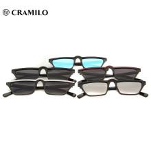Gafas de sol de metal Italia moda negro para hombre gafas de sol