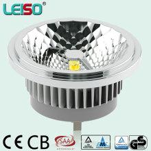 CRI80ra - CRI98ra CREE Chip TUV Approuvé 15W LED AR111 avec effet de lumière halogène parfait