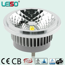 CRI80ra - CRI98ra CREE Chip TUV Approved 15W LED AR111 with Perfect Halogen Light Effect