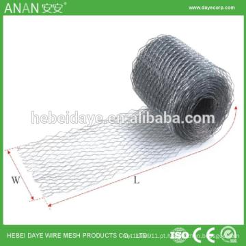 Grelha decorativa de bobina decorativa de aço inoxidável de 12 * 25mm