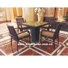 Juego de comedor / Sillas y muebles de mesa / jardín