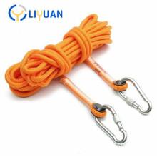 Durable rock climbing rope