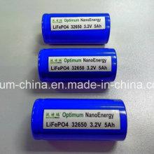 Fonte de alimentação Bateria de lítio de 3.2V 5ah