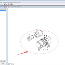 Deutz diesel engine spare parts air filter 01180867 for 1013/913/914 engine