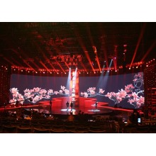 Slim Lightweight Quiet Rental Indoor LED Display